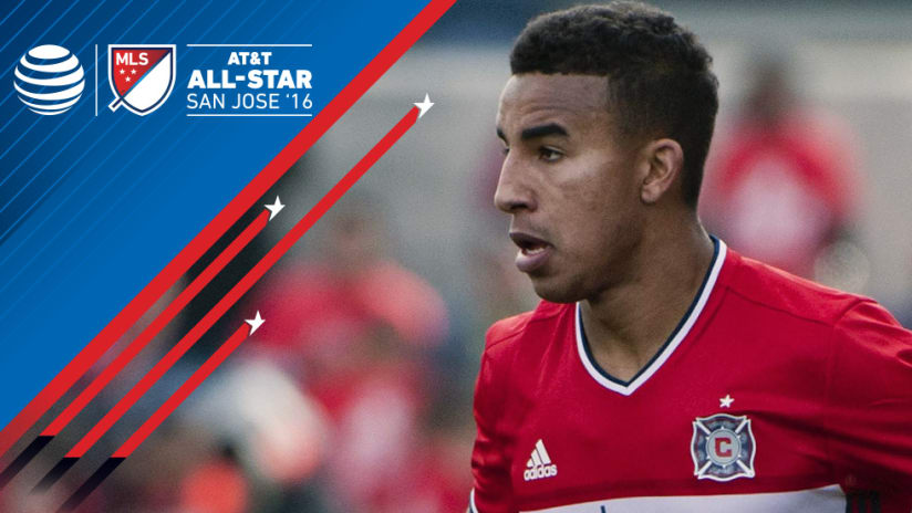 Brandon Vincent - Chicago Fire - All-Star Game