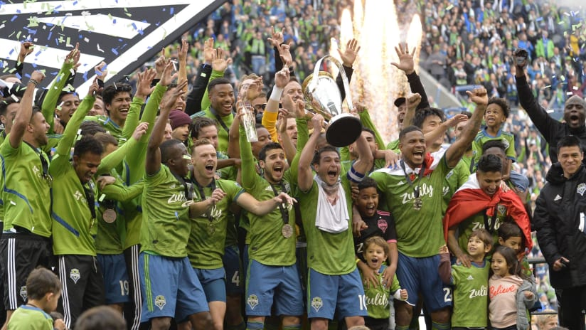 Seattle Sounders lift MLS Cup 2019