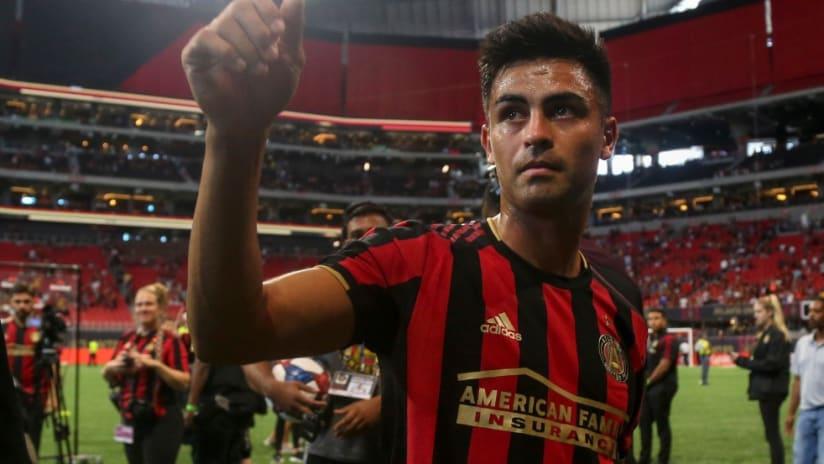 Pity Martinez - close up - sideline