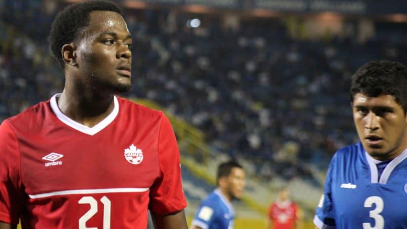 Cyle Larin - Canada - El Salvador - World Cup qualifiers