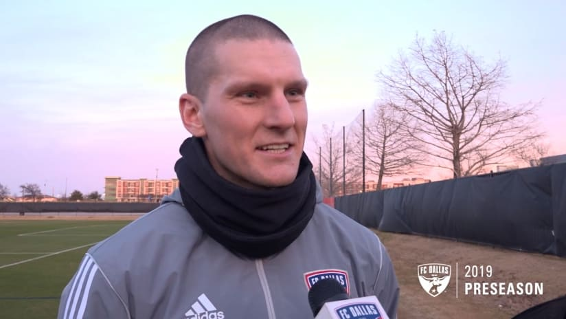 Zdenek Ondrasek - FC Dallas - during 2019 preseason training