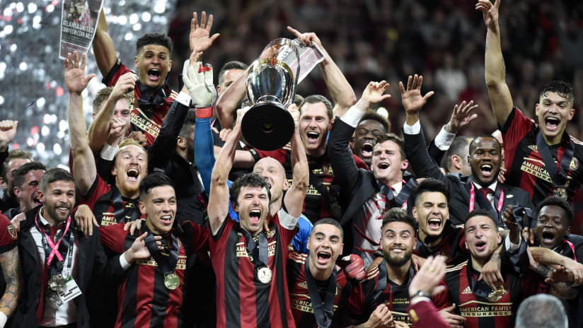 Atlanta United - 2018 MLS Cup celebration