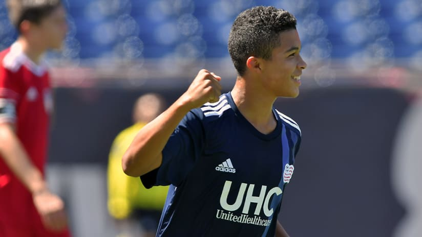 Damian Rivera - New England Revolution - With Academy
