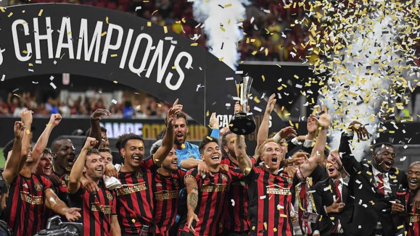 Atlanta Campeones Cup celebration