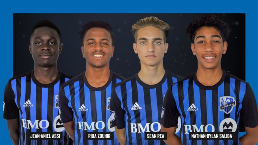 Montreal Impact homegrown signings