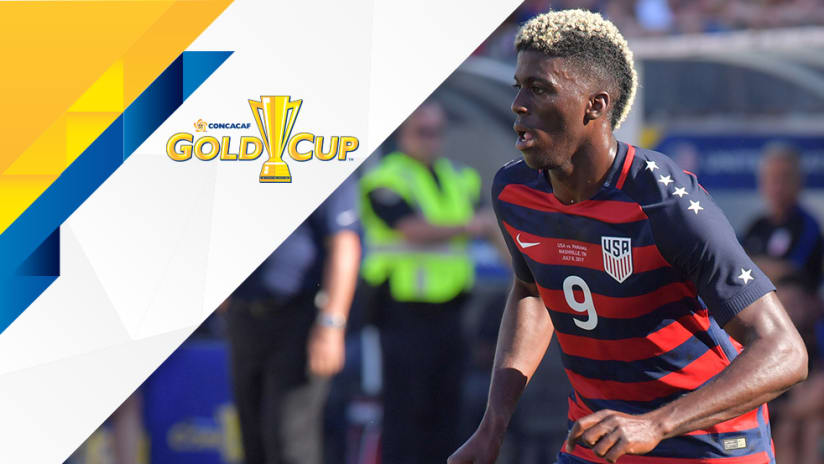 Gyasi Zardes - US national team - Gold cup overlay