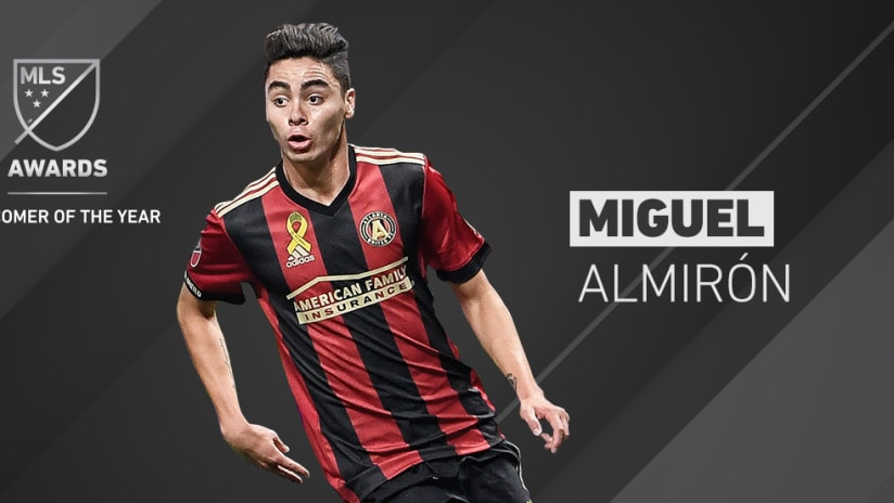 2017 Awards - Newcomer of the Year - Miguel Almirón