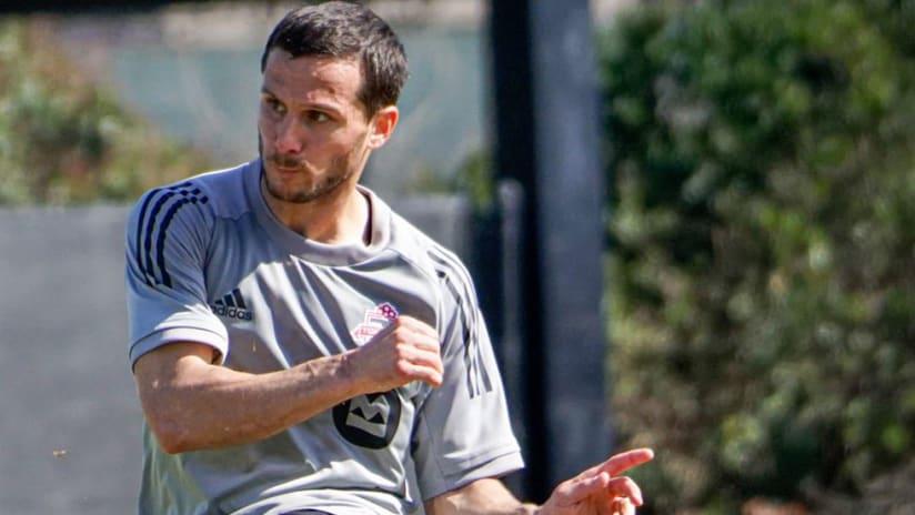 Pablo Piatti - Toronto FC - training