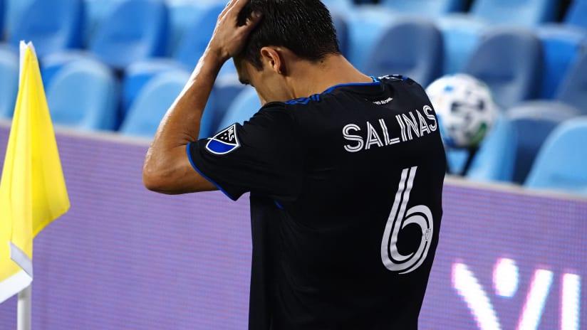 Shea Salinas - San Jose defeat - Sept. 19, 2020