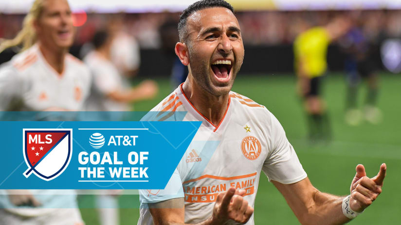 AT&T Goal of the Week - Week 17 - Justin Meram