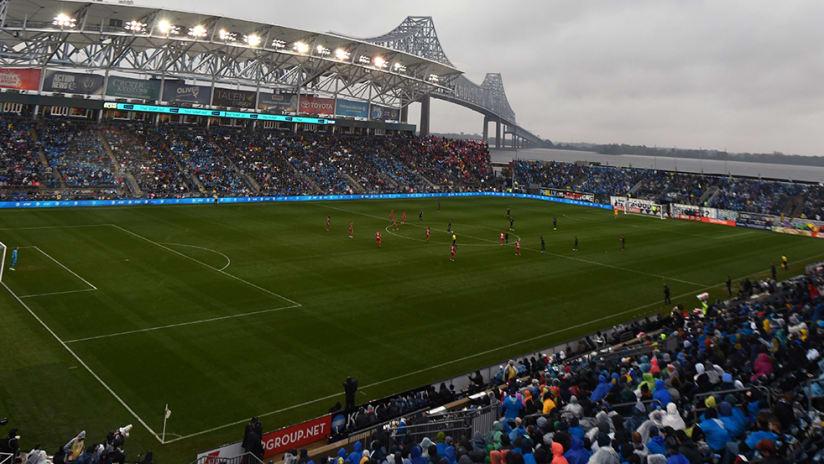 Philadelphia Union - stadium - wide shot
