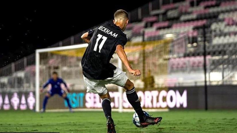 David Beckham's son, Romeo, makes debut for Fort Lauderdale CF