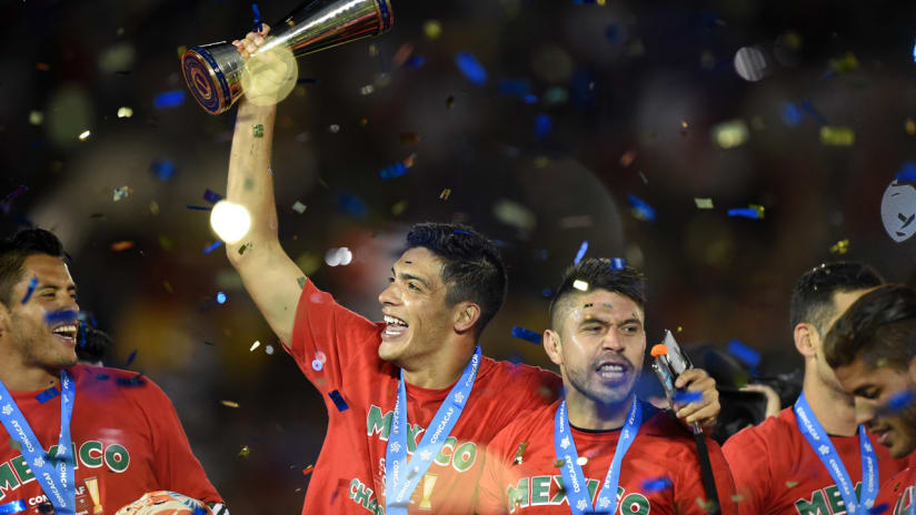 Mexico celebrate 2015 Gold Cup Championship