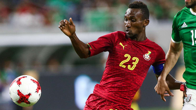 Harrison Afful - Columbus Crew SC - playing for Ghana