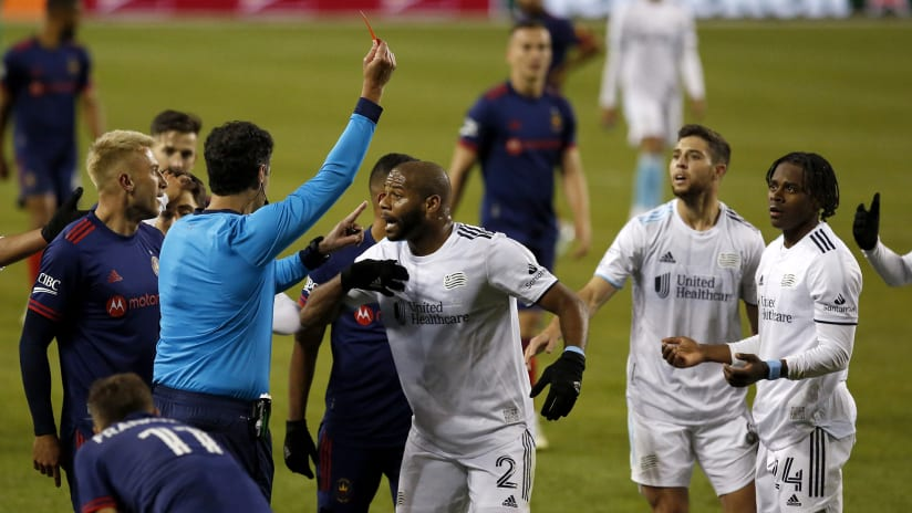 MLS Disciplinary Committee fines Jhohan Romana, DeJuan Jones red card upheld