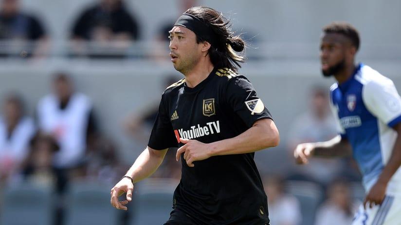 Lee Nguyen - LAFC - on debut, vs. FC Dallas