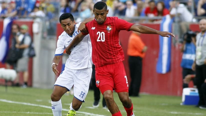 San Jose Earthquakes signing Anibal Godoy in action for Panama