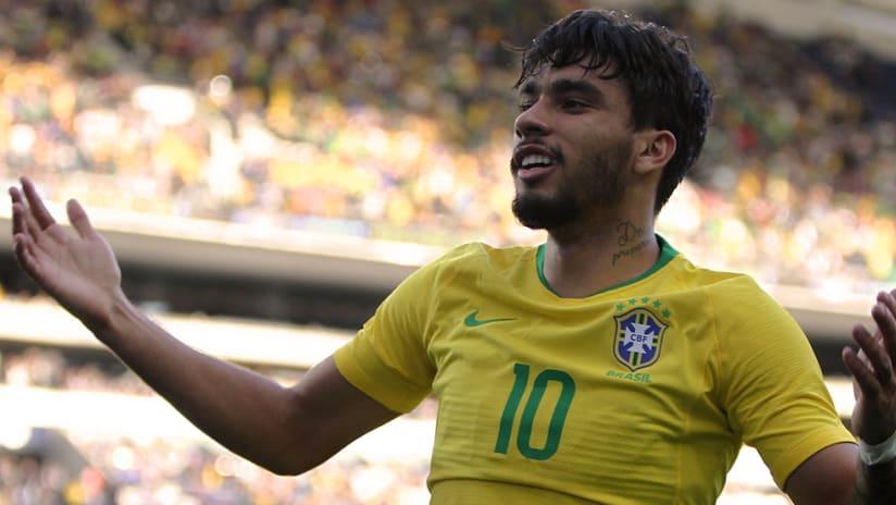Lucas Paqueta - Brazil - Close up