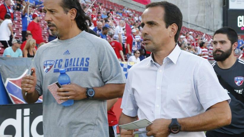 Oscar Pareja - FC Dallas - coach - assistants