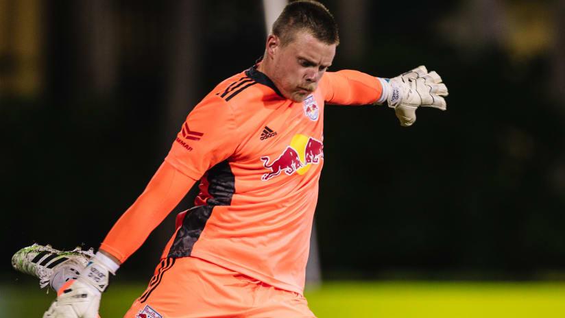 New York Red Bulls goalkeeper David Jensen joins Belgian club Westerlo on loan