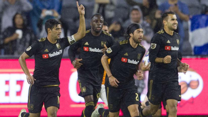 LAFC - celebrate a goal