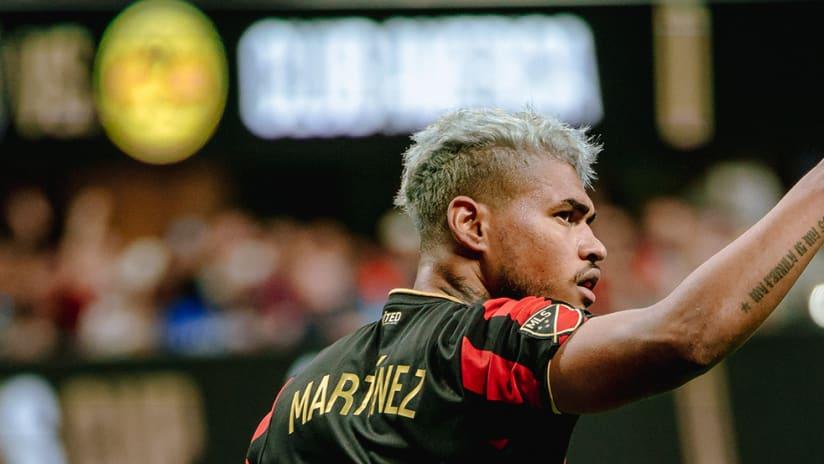 Josef Martinez - Atlanta United - Finger point