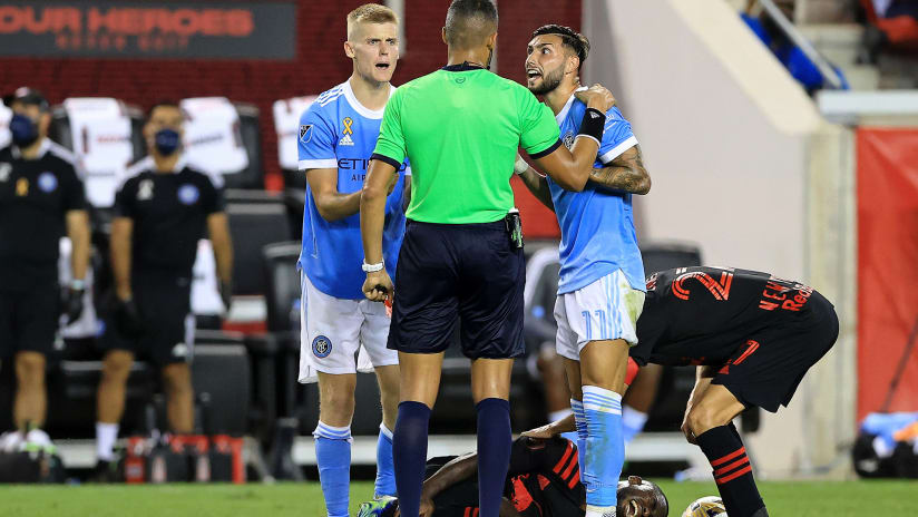NYCFC players, San Jose & Austin fined in MLS Disciplinary Committee decisions