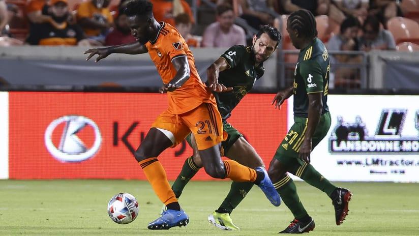 Recap: Houston Dynamo FC 2, Portland Timbers 2