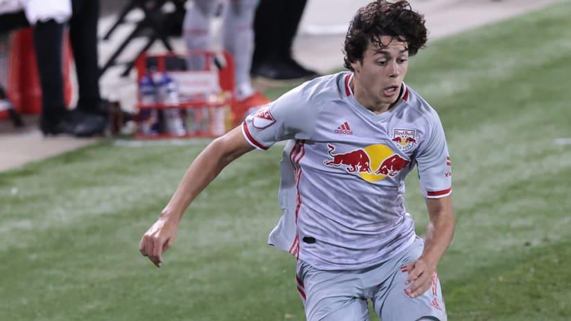 Caden Clark - New York Red Bulls - sideline