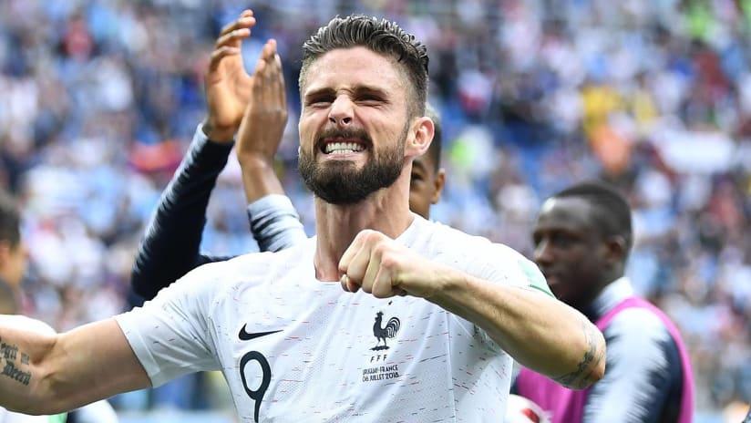 Olivier Giroud - France - Celebrating