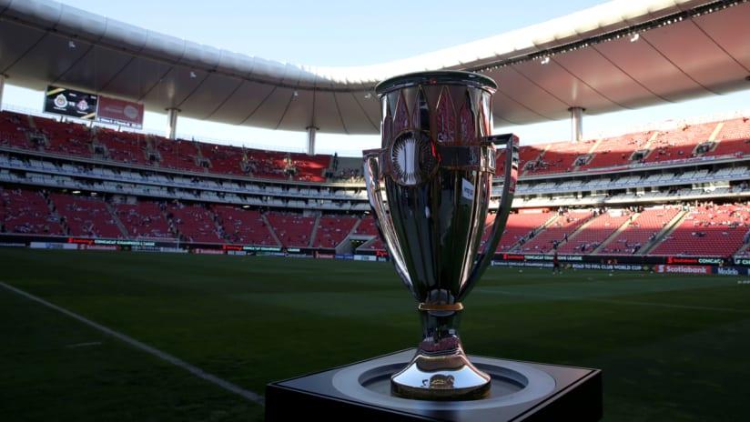 New Concacaf Champions League trophy - 2018 - Estadio Akron - Guadalajara