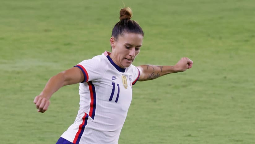 Ali Krieger on her message to the LGBTQ+ community