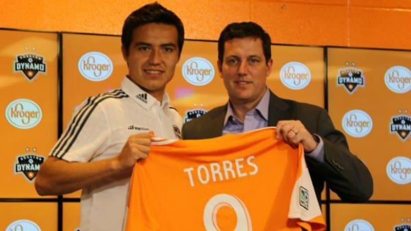 Erick Cubo Torres, Houston Dynamo press conference