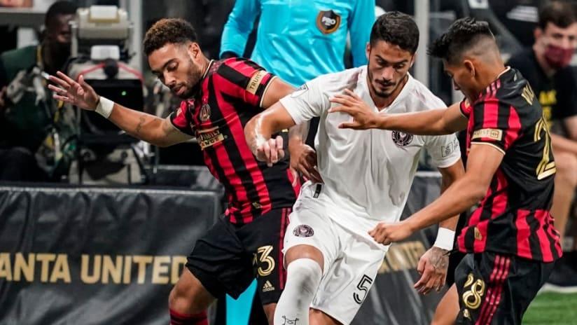Inter Miami - Atlanta United - closeup