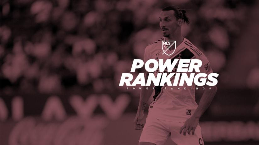 Power Rankings - Zlatan Ibrahimovic