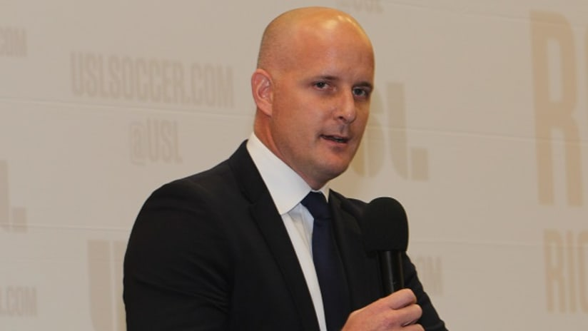 USL president Jake Edwards