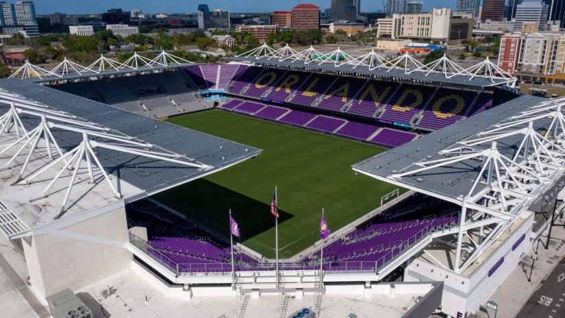 Orlando City empty stadium