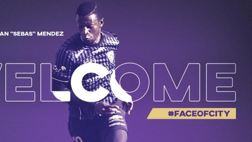 Orlando City SC - Jhegson Sebastian Mendez