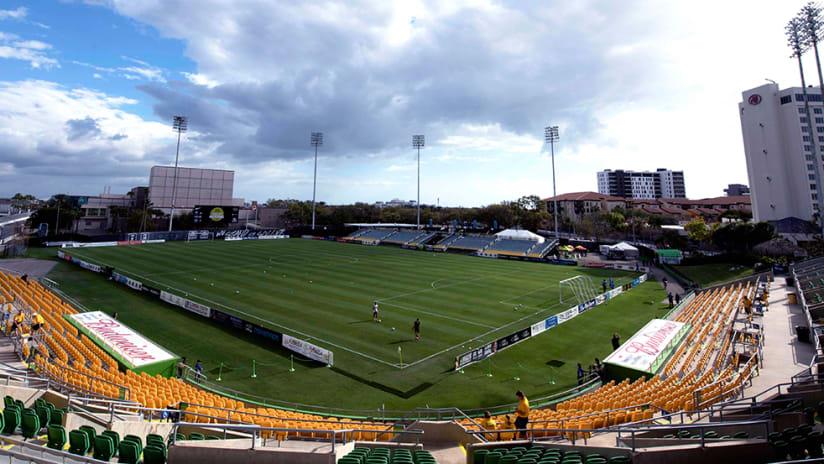 Al Lang Stadium - Tampa Bay Rowdies - wide-angle shot