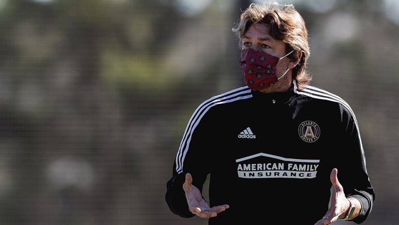 Gabriel Heinze - Atlanta United - training session