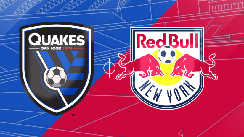 San Jose Earthquakes vs. New York Red Bulls - Match Preview Image