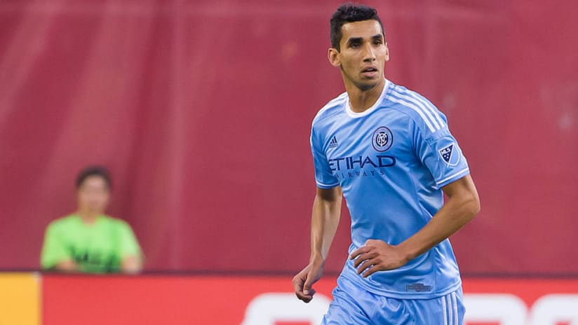Mehdi Ballouchy - playing for NYCFC in 2015 - solo