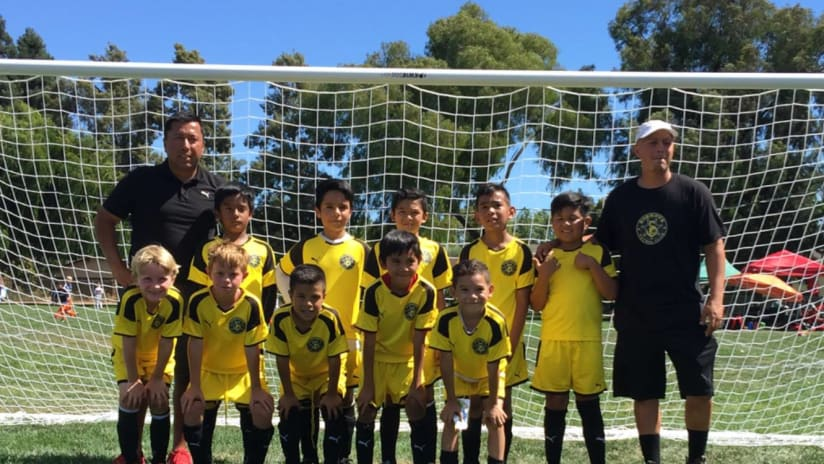 Sheriffs FC - youth players and coaches