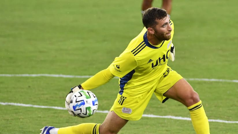 New England Revolution goalkeeper Matt Turner named Week 8 MLS Player of the Week