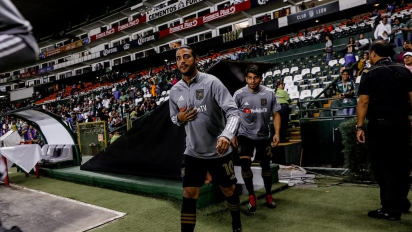 Carlos Vela in CCL warmup - LAFC