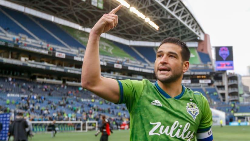 Nico Lodeiro points - Seattle Sounders