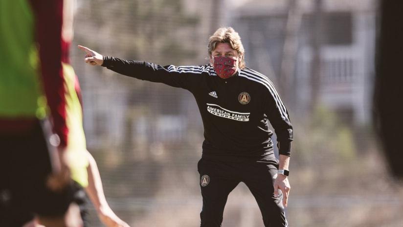 Gabriel Heinze - Atlanta United - preseason