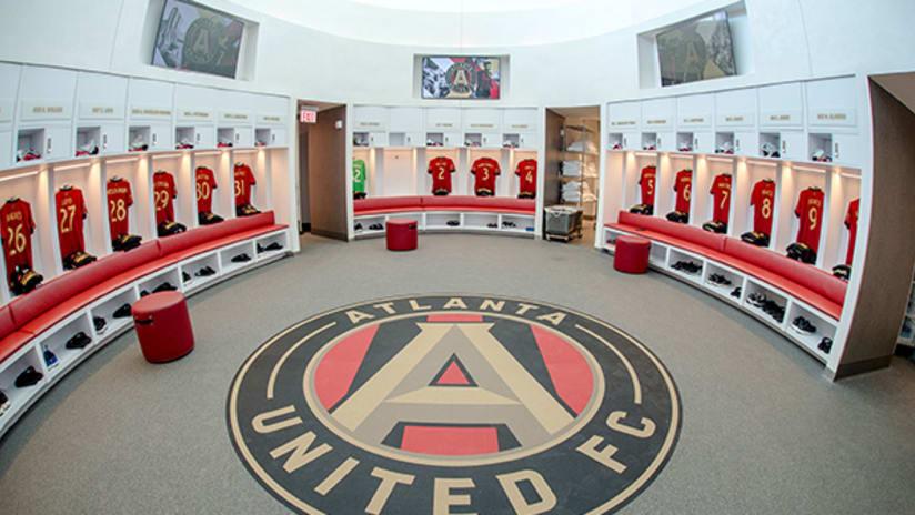 Atlanta United Training Facility: Locker
