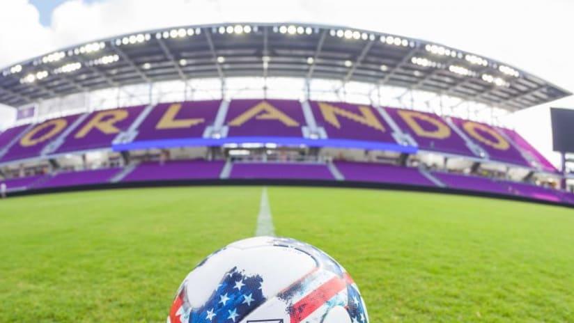 Orlando City Stadium midfield view