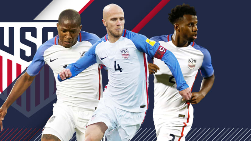 US national team callups - March 15, 2017